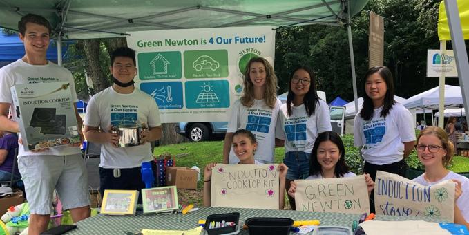 Green Newton Summer Interns
