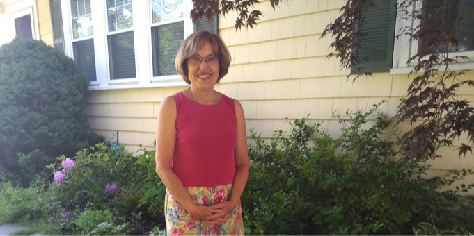 Newton resident Halina insulated her home