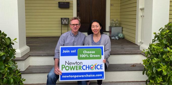 Newton Power Choice 100% Green Testimonial