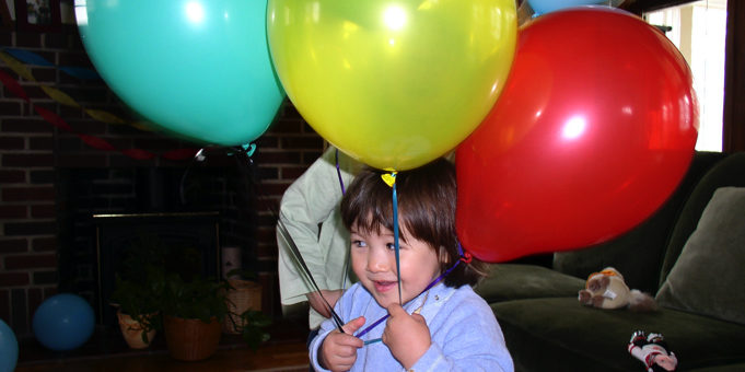 don't release balloons
